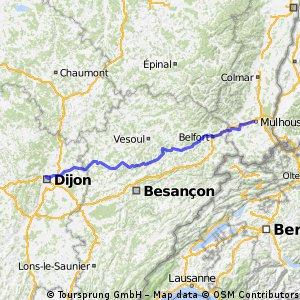 Mulhouse - Dijon