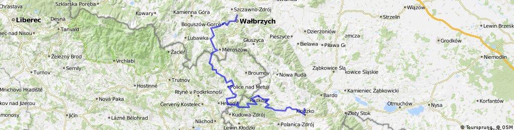 Kłodzko-Wałbrzych/Góry Stołowe PL i CZE