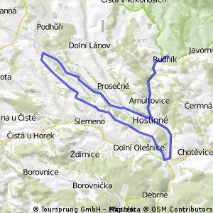 Rudník-Nové Zámky-Slemeno-Kunčice-Rudník
