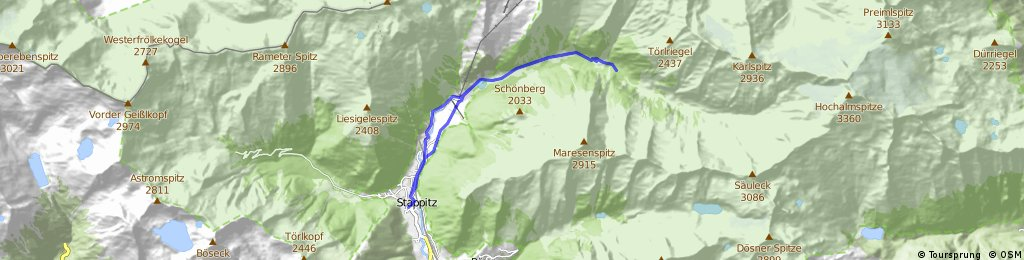 Mallnitz - Seebachtal - Schüttler Alm