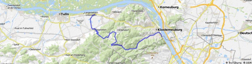klosterneuburg nach muckendorf