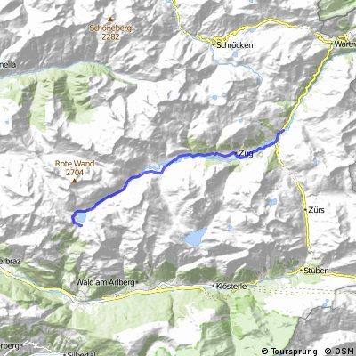 Von Lech zum Formainsee (Freiburger Hütte)