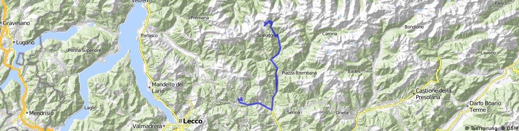 Pizzino-San Giovanni-Olmo al Brembo-Mezzoldo-Passo San Marco
