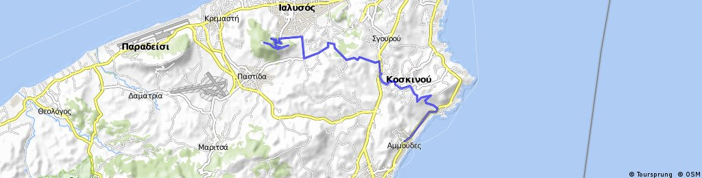 Tour auf Rhodos