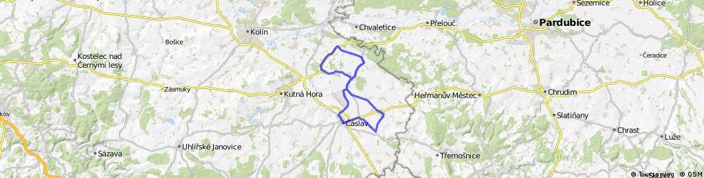 42 km roviny - vrdy,šandovka