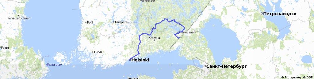 Брусничное-Хельсинки