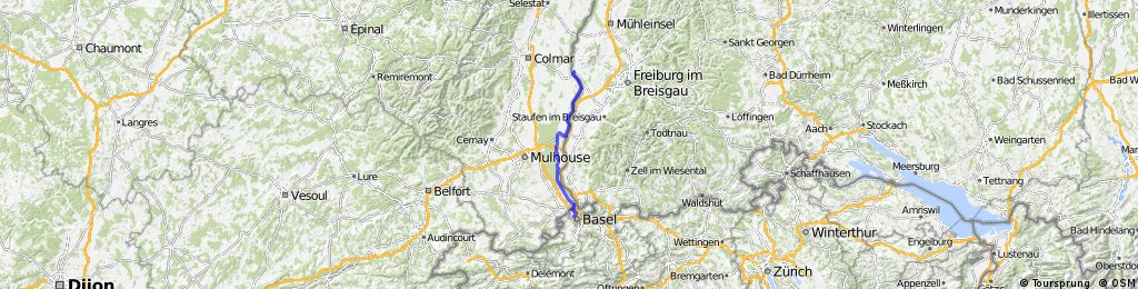 CYCLING THE RHINE: Route 19A