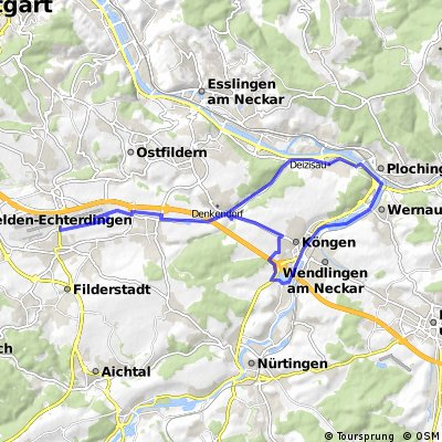 Unterensingen-Flughafen-Köngen