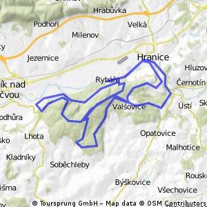 Cestou-necestou přes Teplice, Valšovice, Maleník do Týna a zpět