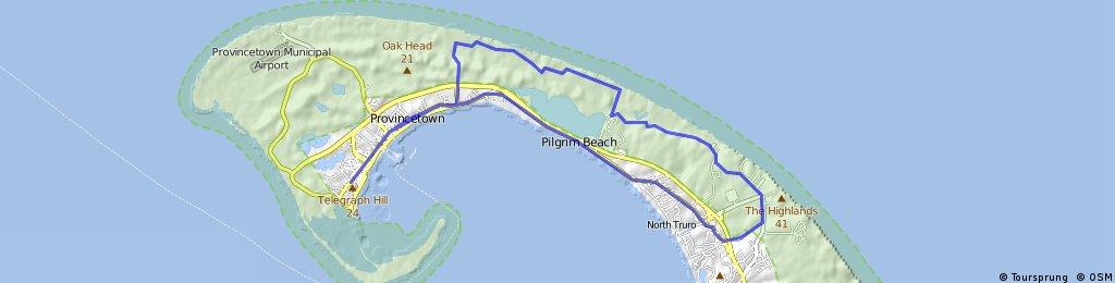 Provincetown to Truro Dunes