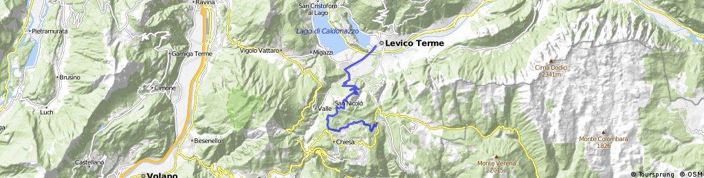 Friedensweg Levico