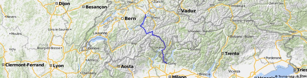 Lucerne to Como