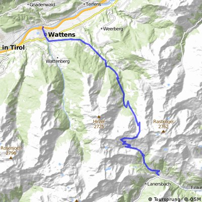 Wattens - Vorderlahnersbach