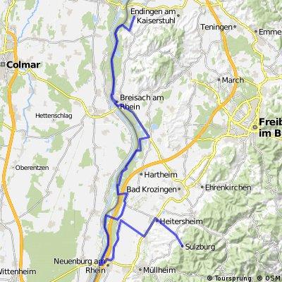 Tappa 7 : Sasbach - Suizburg