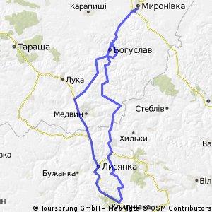 Myronivka-Moryntsi-Myronivka
