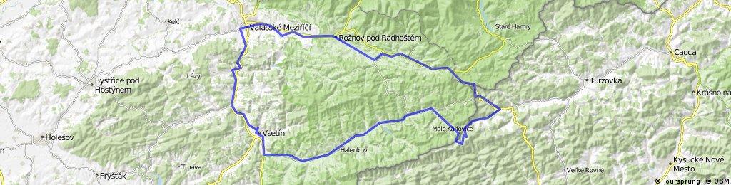 Okružní trasa přes Kasárna a Slovensko