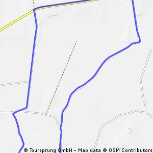 Osterhever 5,5km Laufstrecke