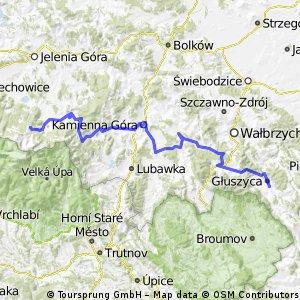 "Rajd Rowerowy ""Karkonosze-Tatry"" (Etap 2)"