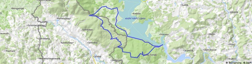 11.06.23 Schöneben-Schwarzenberg Kanal-Moldaustausee