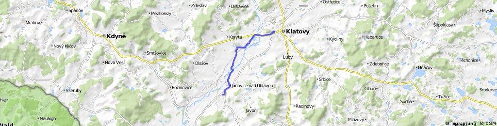 Janovice - Bezděkov - Klatovy