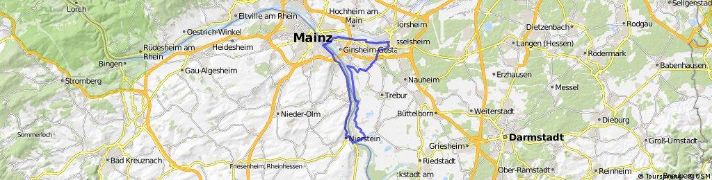 TG, Mainz, Nierstein;Fähre Oppenh.,Langenau