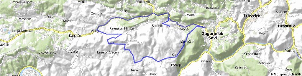 Semnik-Zagorje-Sv. Gora-Viderga-Semnik
