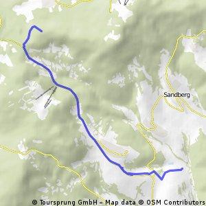 Premicher Grund bis Kloster Kreuzberg