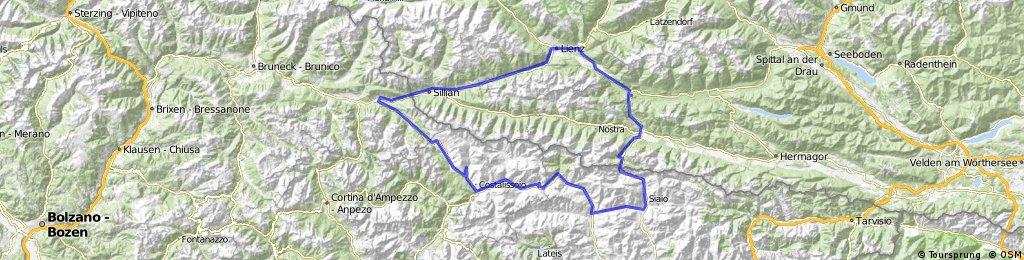 Dolomitenrundfahrt für Männer