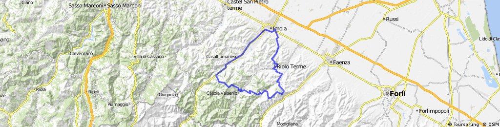 Tre valli Fontanelice, Zattaglia, Rontana, Riolo