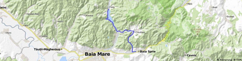 Baia Sprie-Mara- Runcu-Izvoare-Baia Sprie