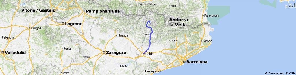 Tour Catalogne / Lleida - Boi Taüll