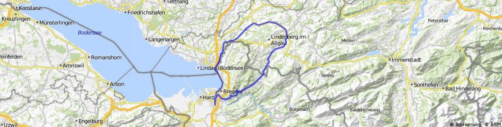Bregenz-Meckatz-Weiler-Langen CLONED FROM ROUTE 681812