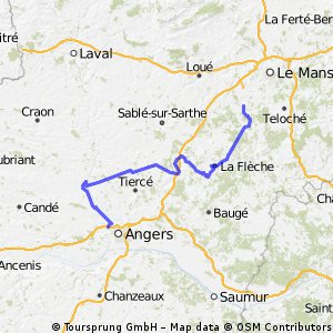 HTDF Stage 4:La Touche>Angers