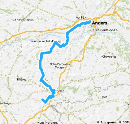 HTDF Stage 5: Angers>Le Rossignol