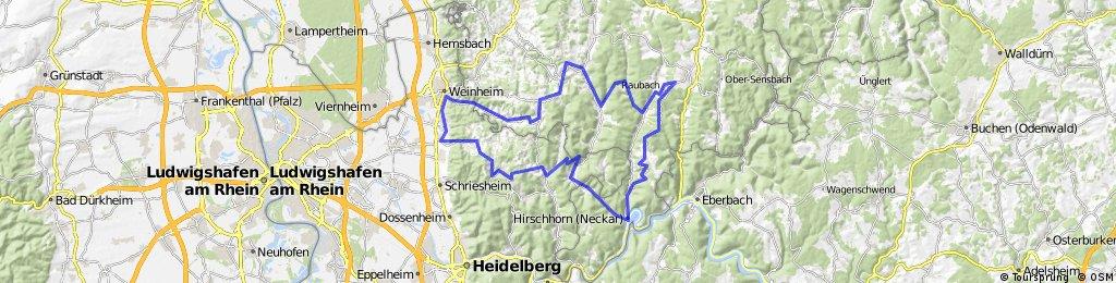 Weinheim - Hirschhorn