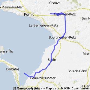 Gite to Passage du Gois