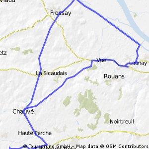 Gite to Loire via Buzay and Frossay