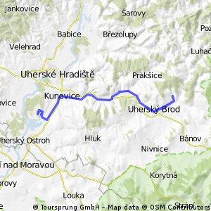 Újezdec - Ostrožská - Újezdec