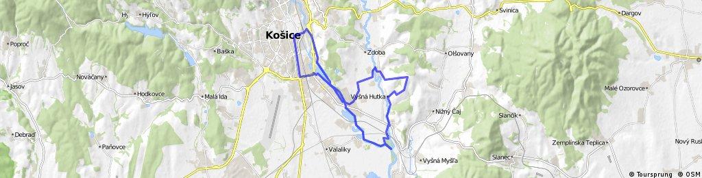 Košice - HTH - Vyšná Hutka