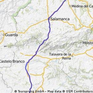 Reto Pamplona - Cadiz, Ruta A, Etapa 2