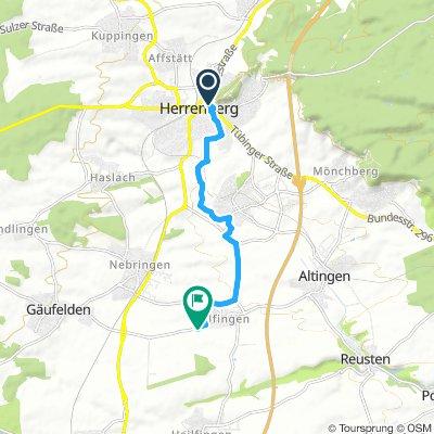 Herrenberg nach Tailfingen (Scheune)