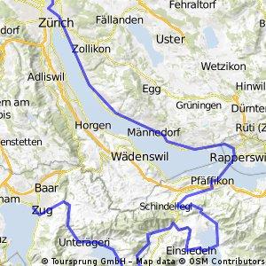 Tour de Bozi 1. Etappe