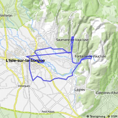Biking from the Source to the Venice of Provence