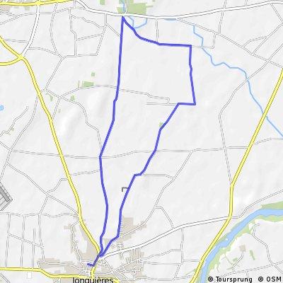 Family Cycling Itinerary - Jonquières to the Via Venaissia