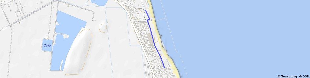 pista ciclabile secondo tratto ciclovia adriatica