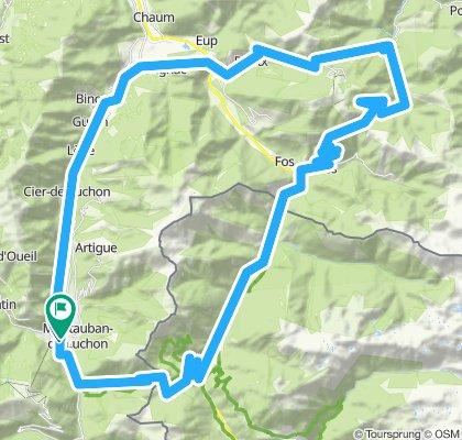 Pyrenäen'11/Tour2: B.de-Luchon - Portillon - Artigascoux - Menté - Marignac - B-de-L