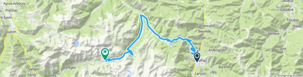 Pyrenäen'11/Tour3: Arreau - Aspin - Tourmalet - Aspin - Arreau