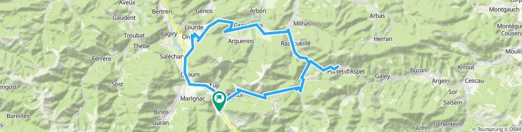 Pyrenäen'11: Arlos - Menté - Portet d'Aspet - Buret - Ares - Arlos