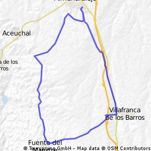 Almendralejo-La Fuente-Villafranca-Almendralejo