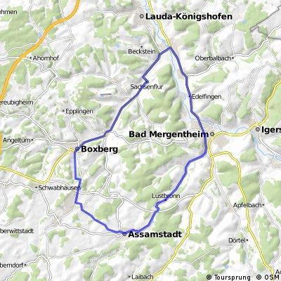 Rundtour Boxberg-Mergentheim